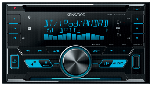 Kenwood DPX-5000BT blue
