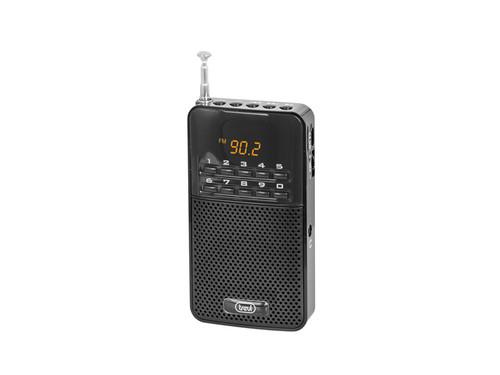 DR 730 M/BK Kapesní rádio, PLL tuner FM