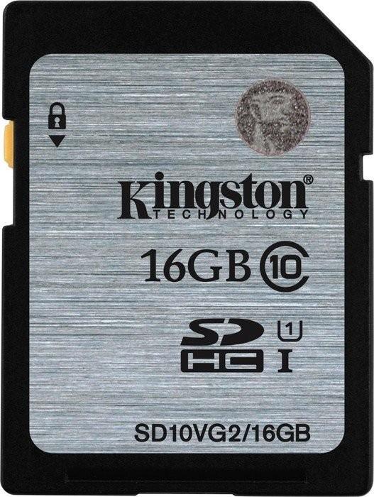 Paměťová karta Kingston 16GB SDHC