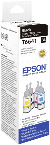Epson ink black T 664 70 ml T 6641
