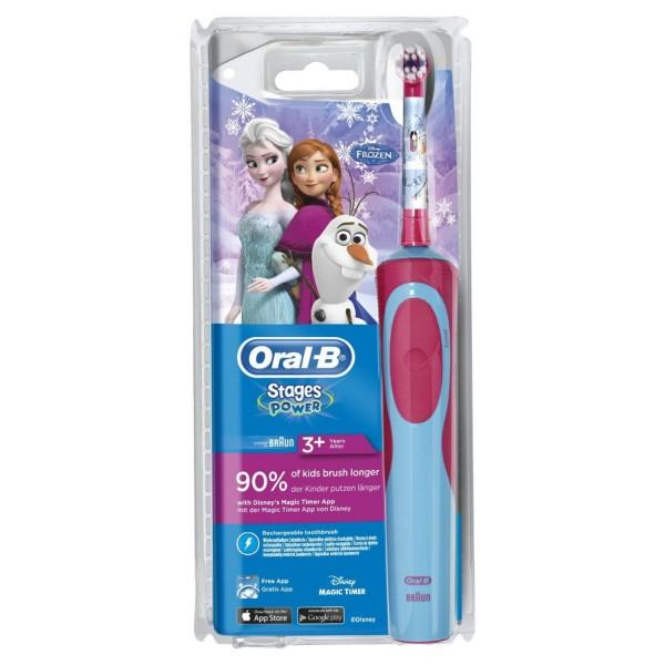 Braun Oral-B stages Power Frozen elektrický zubní kartáček pro děti