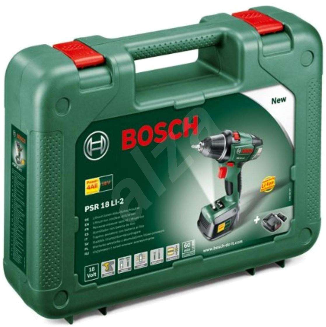 Bosch PSR 18 Li aku vrtačka