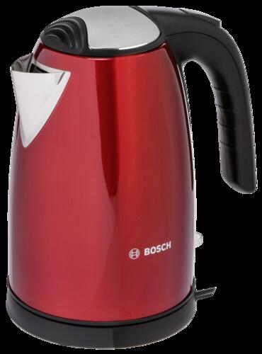 Bosch TWK7804 Edelstahl Wasserkocher 1,7l rot
