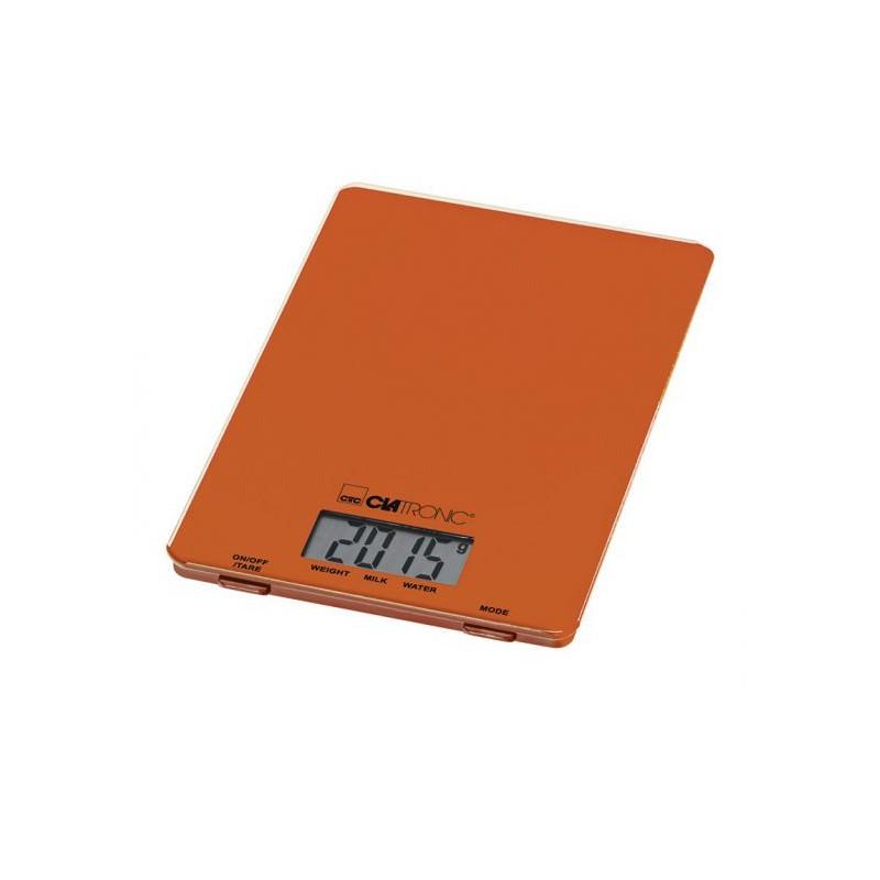 Kuchyňská váha Clatronic KW 3626 - oranžová