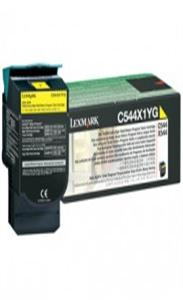 Lexmark C544,x544, 4K Yellow Return program Toner Cartridge