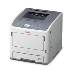 OKI B721dn ČB tiskárna A4, 47str/min PCL/PS3 USB + NET + DUPLEX