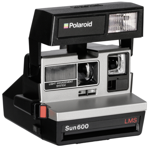 Polaroid 600 Camera 80s style refurbished