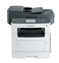 Lexmark MX511de, mono laser MFP, 42ppm,2400 dpi, 512MB, 800MHz, USB, Duplex, GLan, Fax
