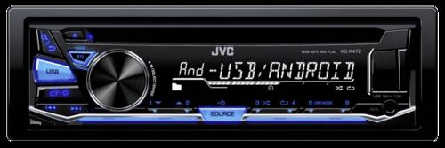 Autorádio JVC KD-R 472 modra
