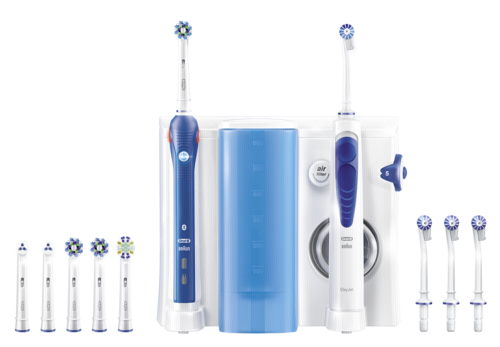 Braun Oral-B Center OxyJet Oral Irrigator + PRO 5000 Smart