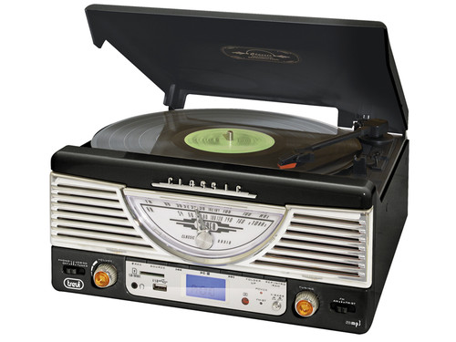 TT 1062/BK Retro music system,MP3/SD/USB