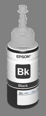 Epson inkoustová náplň L800/L1800 Black 70ml