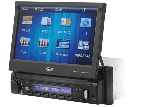 "MDV 6350BT/BK Car 7"" video SD-USB BT"
