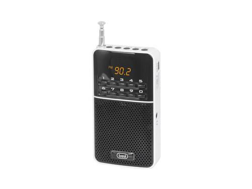 DR 730 M/WH Kapesní rádio, PLL tuner FM