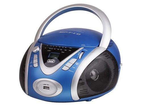 CMP 542USB/modrý Radiopřij. s CD přehráv