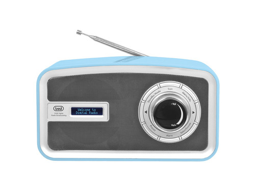 DAB 792R/BLUE Přenosný radiopřijímač DAB