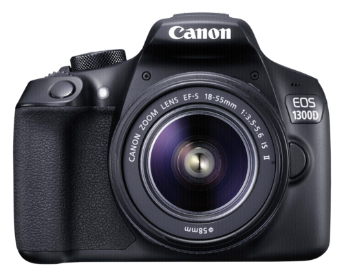 Canon EOS 1300D Kit 18-55mm IS II Spiegelreflexkamera *Aktion*
