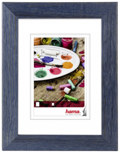 Hama Riga blue 30x40 Wood 59679