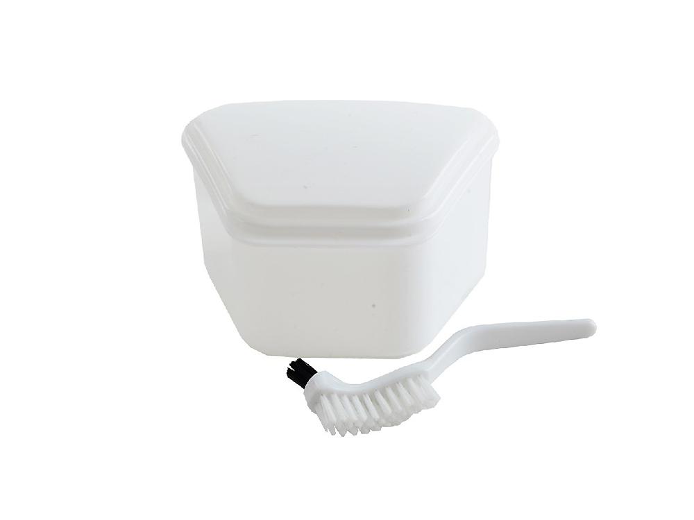 box na zubní protézu+čistič UH