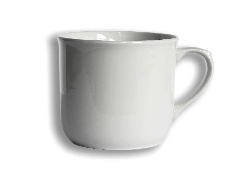 hrnek 500ml Vařák BÍLÝ 1ks porcelán