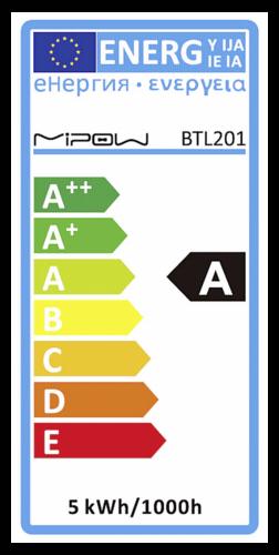 MiPow Playbulb Smart LED E27 5W (40W) RGB bulb black