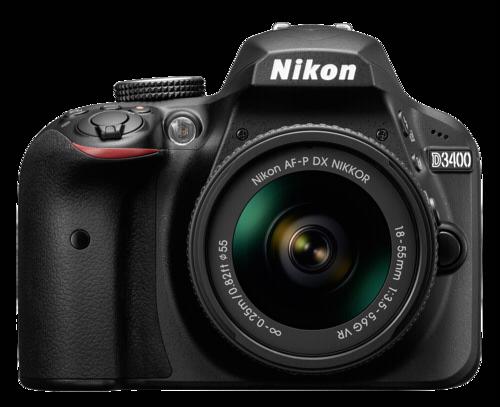Nikon D3400 Kit black + AF-P 18-55 VR