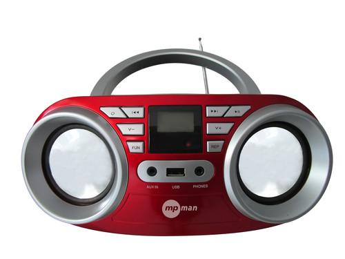 BOOMBOX 64USB/RED Radiopřij.s CDpřehráv.