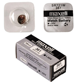 SR 721W / 361 HD WATCH BAT. MAXELL
