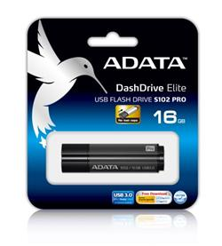ADATA S102 Pro Flash 16GB, USB 3.0, Gray