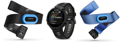 Garmin Forerunner 735XT Black Tri bundle pack