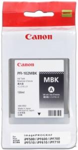 CANON INK PFI-102 MATTE BLACK iPF-500, 600, 700