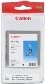 CANON INK PFI-102 CYAN iPF-500, 600, 700