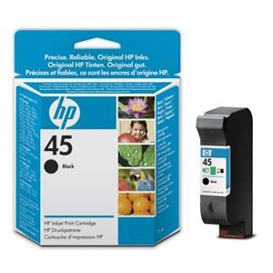 HP no. 45 - černá ink. kazeta malá, 51645GE