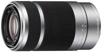 SONY SEL-55210 Teleobjektiv se zoomem ekviv. 55–210 mm, F4,5–6,3 s 3,8x rozsahem