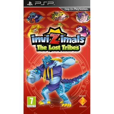 PSP - Invizimals: The Lost Tribes