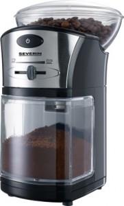 Mlýnek na kávu Severin KM 3874 černo-stříbrný