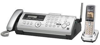 Panasonic KX-FC278CE-S, termotransferový fax/DECT telefon/záznamník