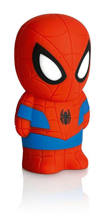 PHILIPS Softpal Battery Spider-Man Dark Blue