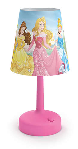 PHILIPS Table Lamp Princess Pink