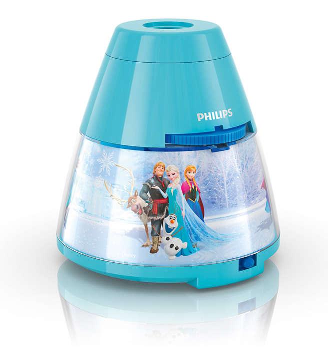 PHILIPS Table Lamp Frozen Blue