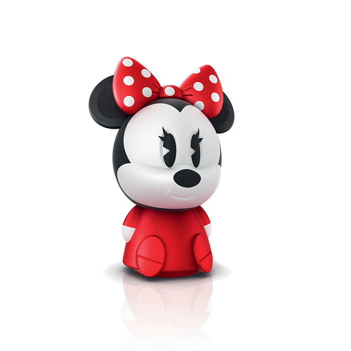 PHILIPS Table Lamp Minnie Red