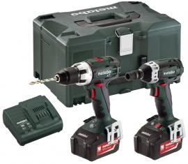Metabo 18 V BS 18 LT Set