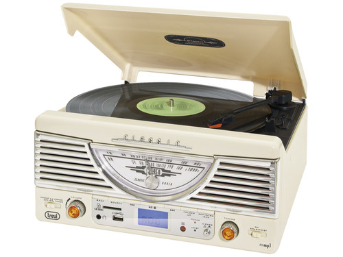 TT 1062/WH Retro music system,MP3/SD/USB