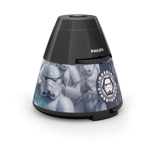 PHILIPS Table Lamp Star Wars Black