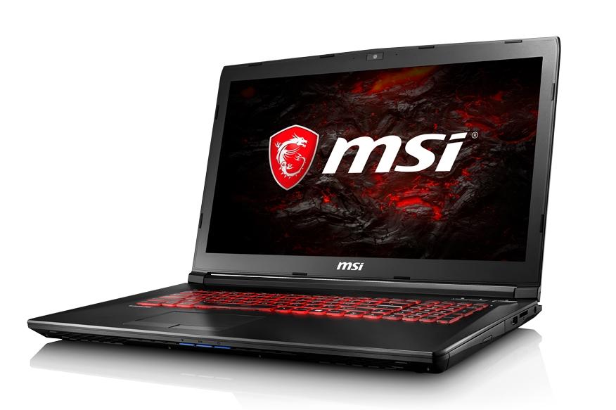 """MSI GL72 7RDX-497CZ/i7-7700HQ Kabylake/16GB/1TB HDD 5400/DVDRW/ GTX 1050 4GB/17,3""""FHD/Win10"""