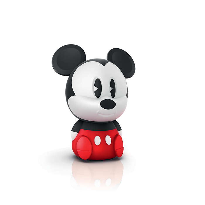 PHILIPS Table Lamp Mickey Black