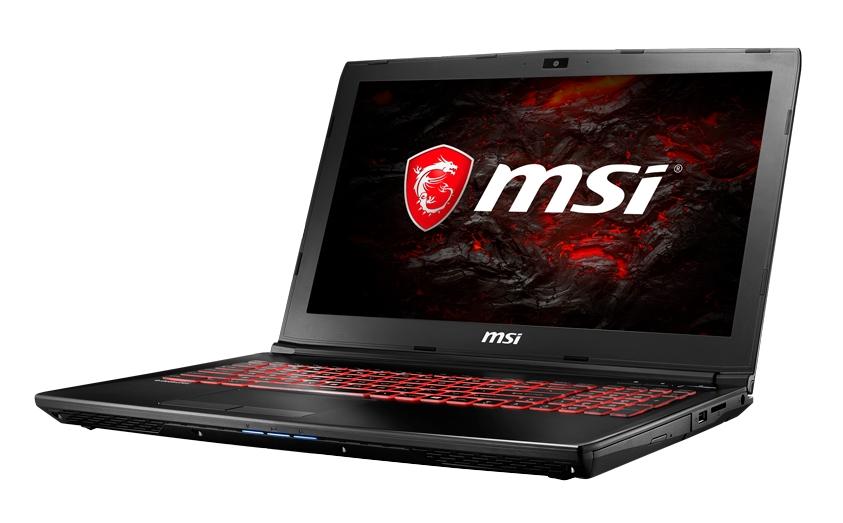 """MSI GL62 7RDX-887CZ/i7-7700HQ Kabylake/8GB/1TB HDD 7200 ot./DVDRW/GTX1050 4GB/15.6"""" FHD/Win10"""