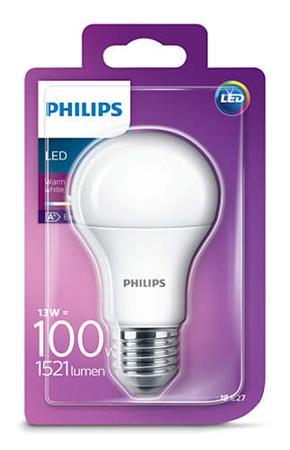PHILIPS LED 100W A60 E27 WW 230V FR ND 1BC/4