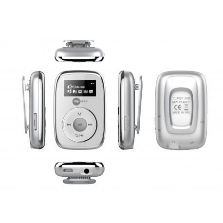 CLIPSY 2GB/WH MP3 přehrávač