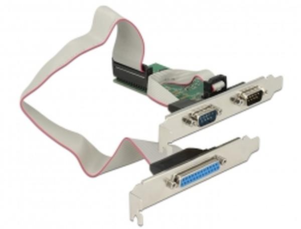 Delock PCI Express Card > 2 x Seriový RS-232 + 1 x Paralelní